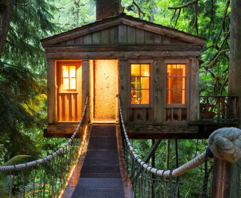 These treehouses will make you feel like a child again