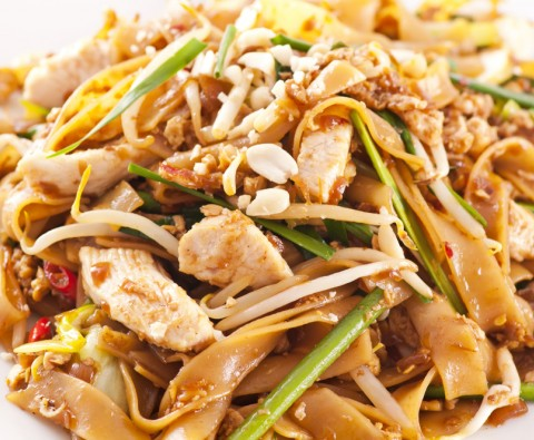 Delicious pad thai recipe