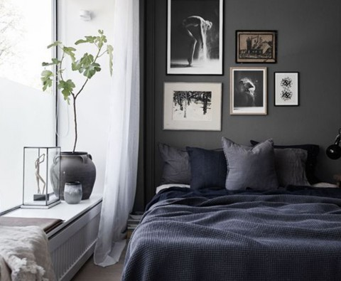 How to use dark paint but keep a room light