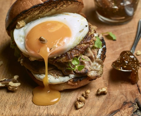Recipe: Leftover Christmas turkey burger