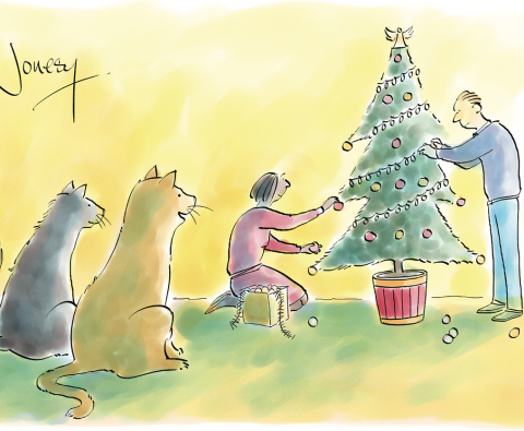 Beat the Cartoonist December - Vote for your favourite caption
