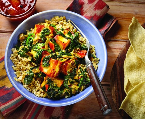 Try this delicious Saag Paneer recipe
