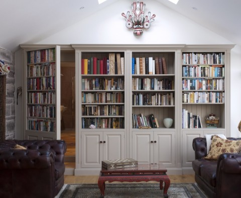 How hidden doors add character to homes