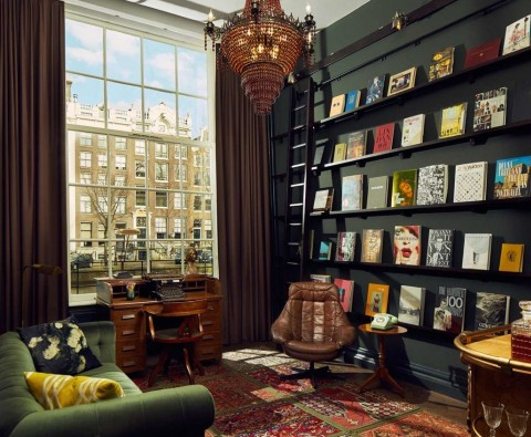 The world's best hotels for book lovers