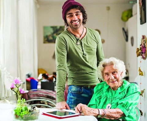 How the young and old are living harmoniously