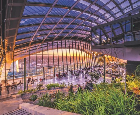 Best of British: Sky gardens
