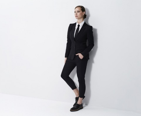 How to style a trouser suit