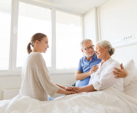 Things to know about staying with your spouse in hospital