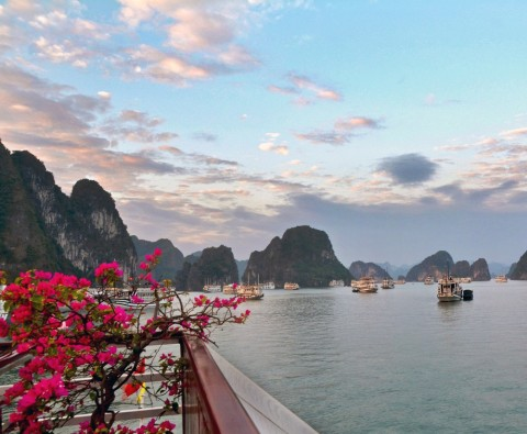 The beauty of Halong Bay