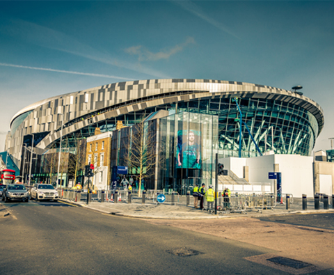 Could Tottenham Hotspur Stadium be London's newest landmark?