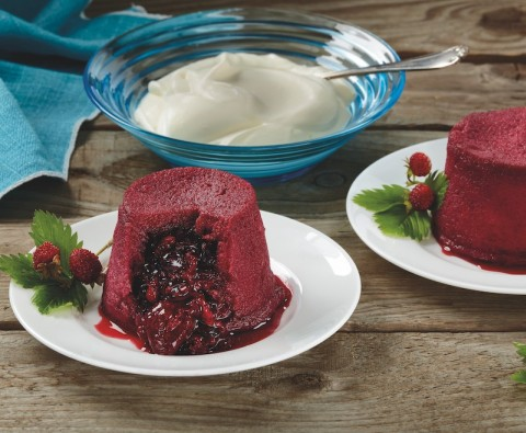 Mini summer pudding recipe