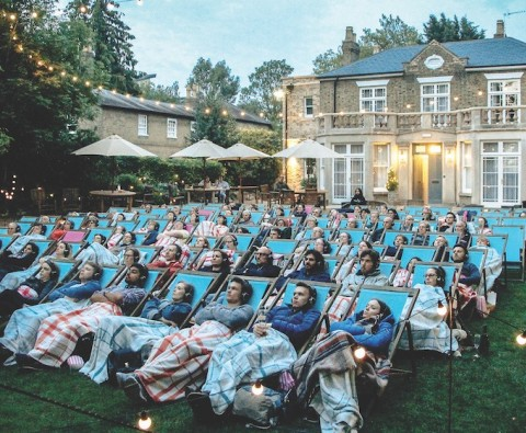 Best of British: Outdoor cinema
