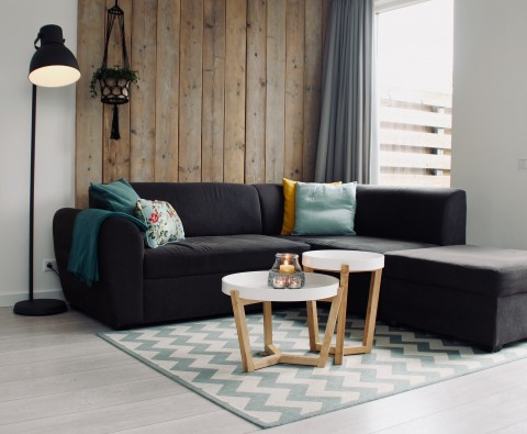 How to maximise space in a small living room