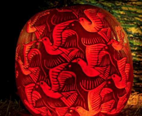 The art of pumpkin carving