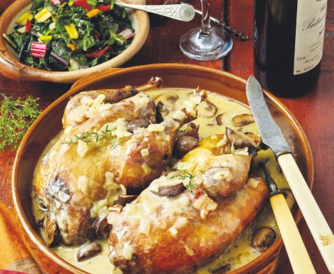 Easy one-pot pheasant recipe