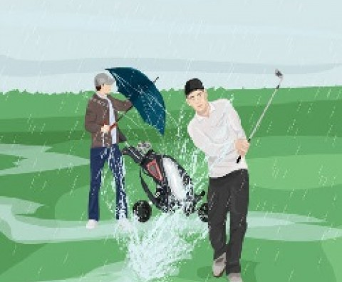 7 must-have accessories for golfing in the rain