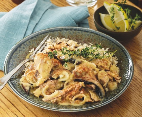 Leftover turkey stroganoff recipe