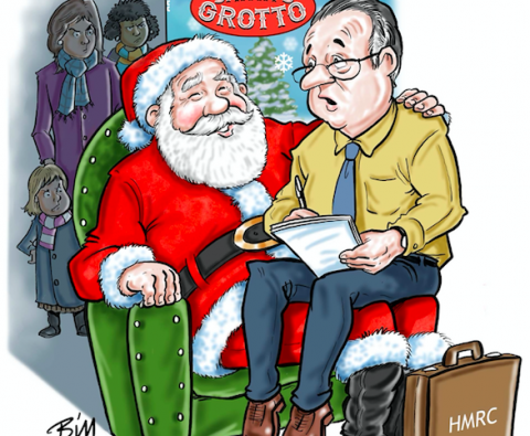 December Beat the Cartoonist: Submit your caption