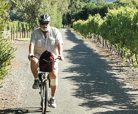 Rolling along the wine trail