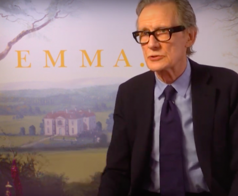 "Interview: Bill Nighy on love, comedy and ""Emma"""