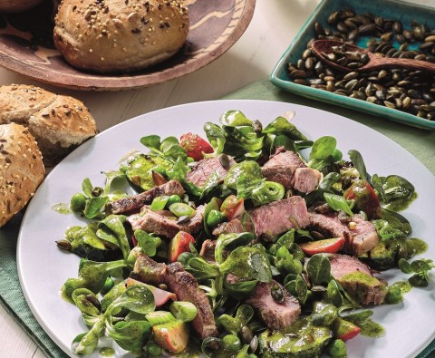 Easter lamb salad recipe