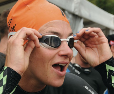 Triathlon: Tears and triumph
