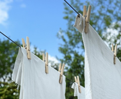 How can we encourage our children to do their own laundry?