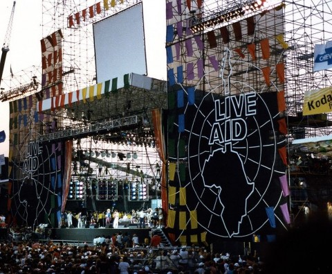 Live Aid: Behind the scenes