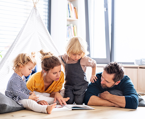 What's the story? The benefits of reading to your child from an early age