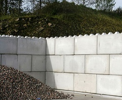 Try mass concrete block wall systems for modular building