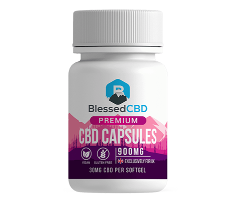 Blessed CBD Capsules | 900mg