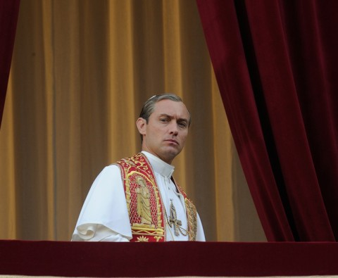 A first look at The Young Pope, starring Jude Law