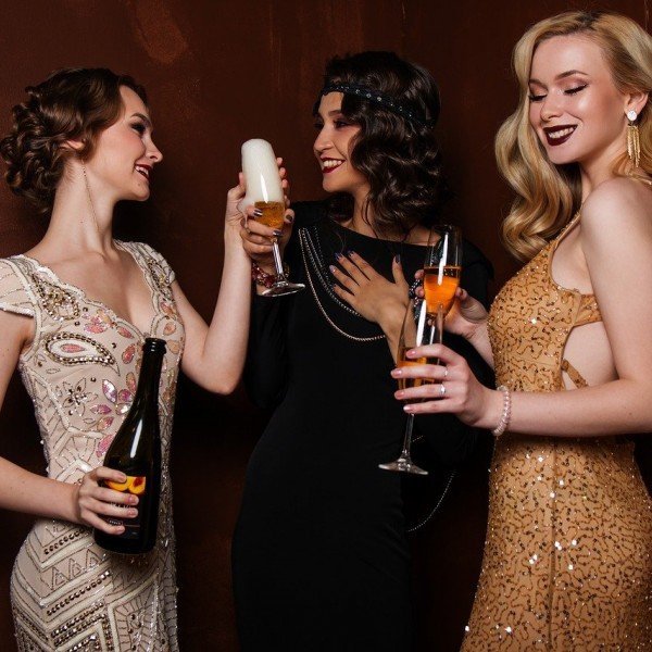 Casino night apparel evolution telephone game