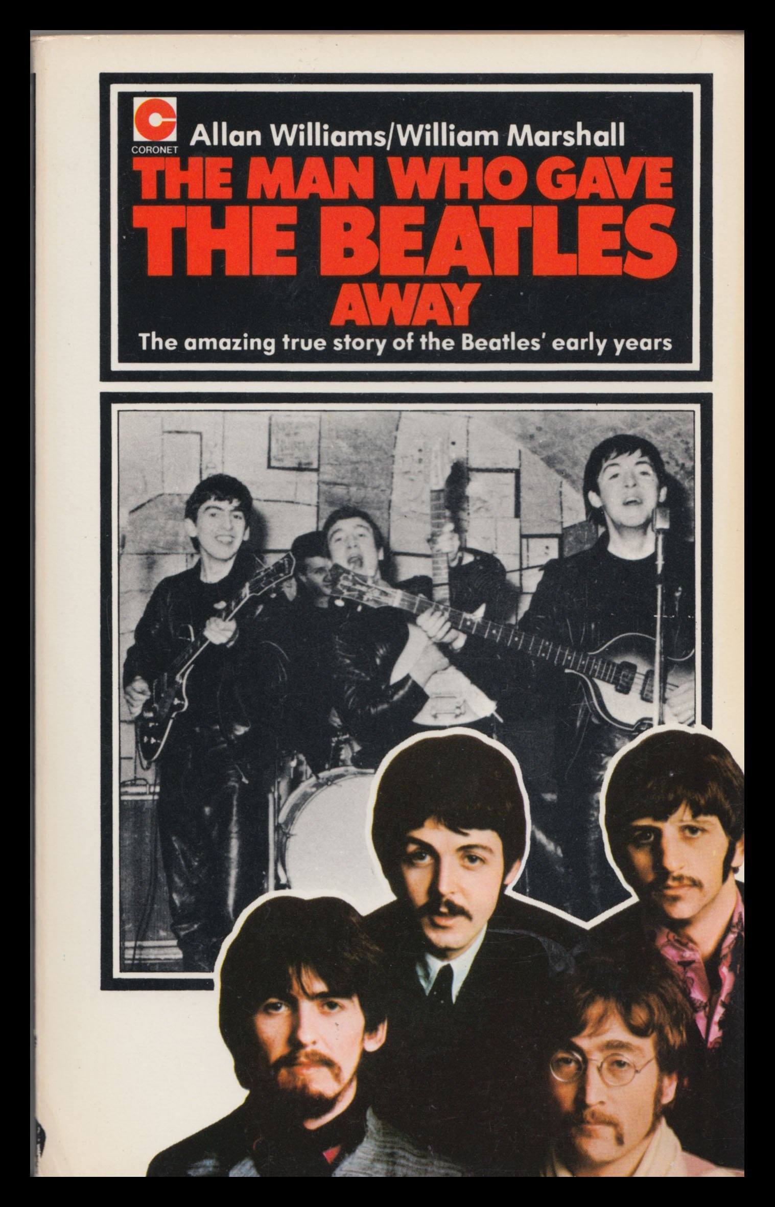 the man who gave the beatles away