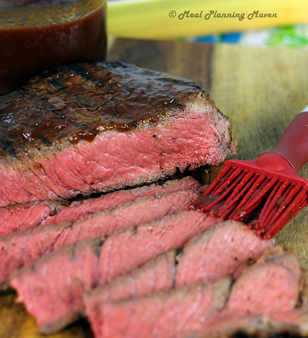 Sweet and tangy London broil