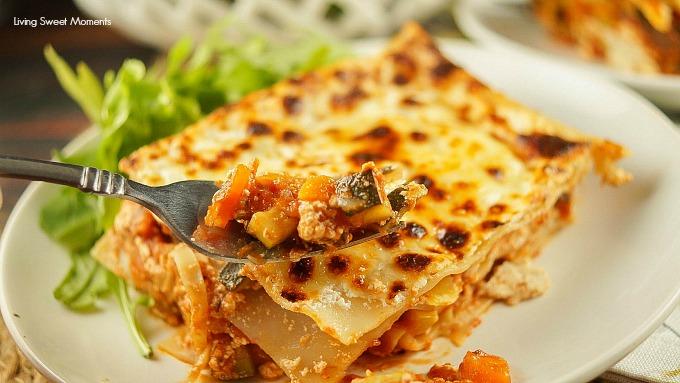 Low Fat Vegetarian Lasagne 57