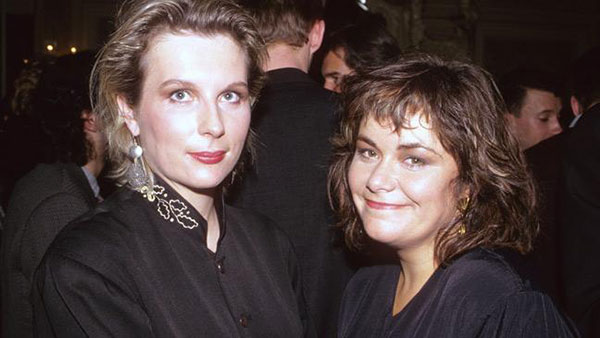 Jennifer Saunders and Dawn French in their younger years