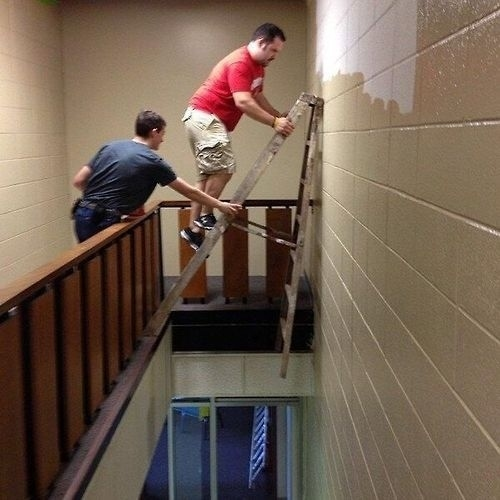 stupid ladder