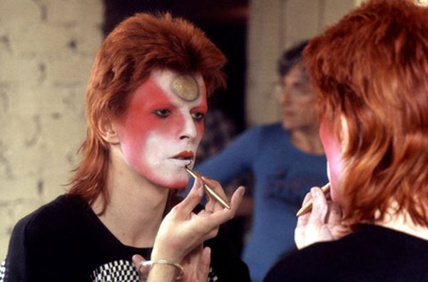 David Bowie as Ziggy