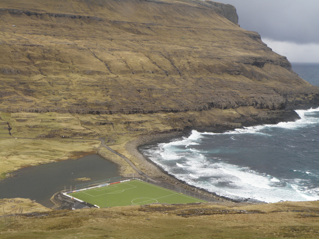 Eidi Stadium Faroe Islands
