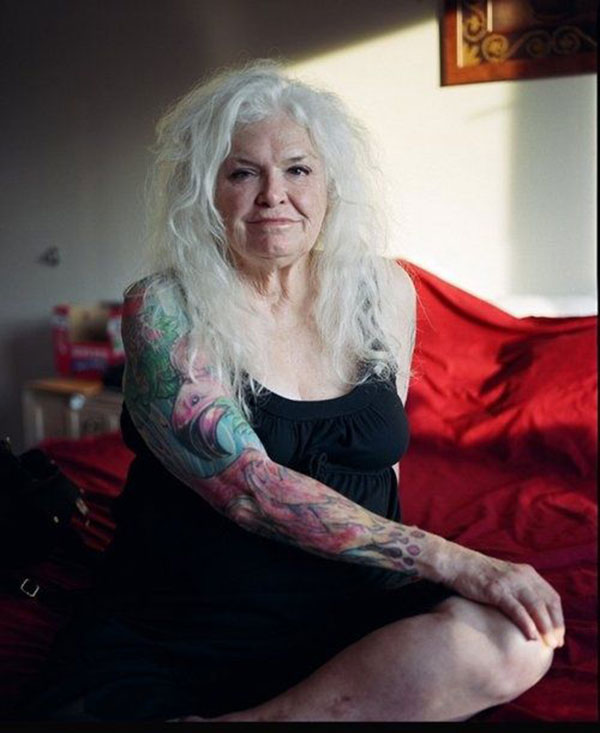 Tattoos look awesome as you age