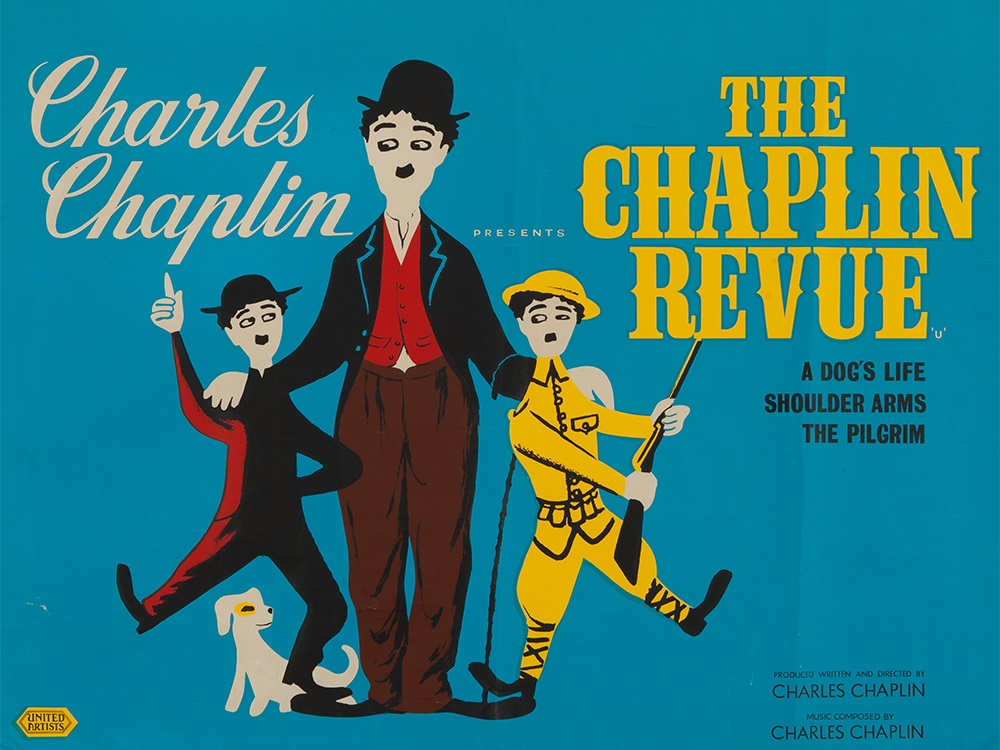 Poster for Charlie Chaplin's The Chaplin Revue