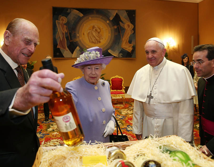 Pope and the Queen