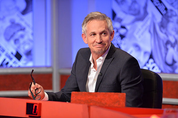 Gary Lineker - over 50s fashion Icon