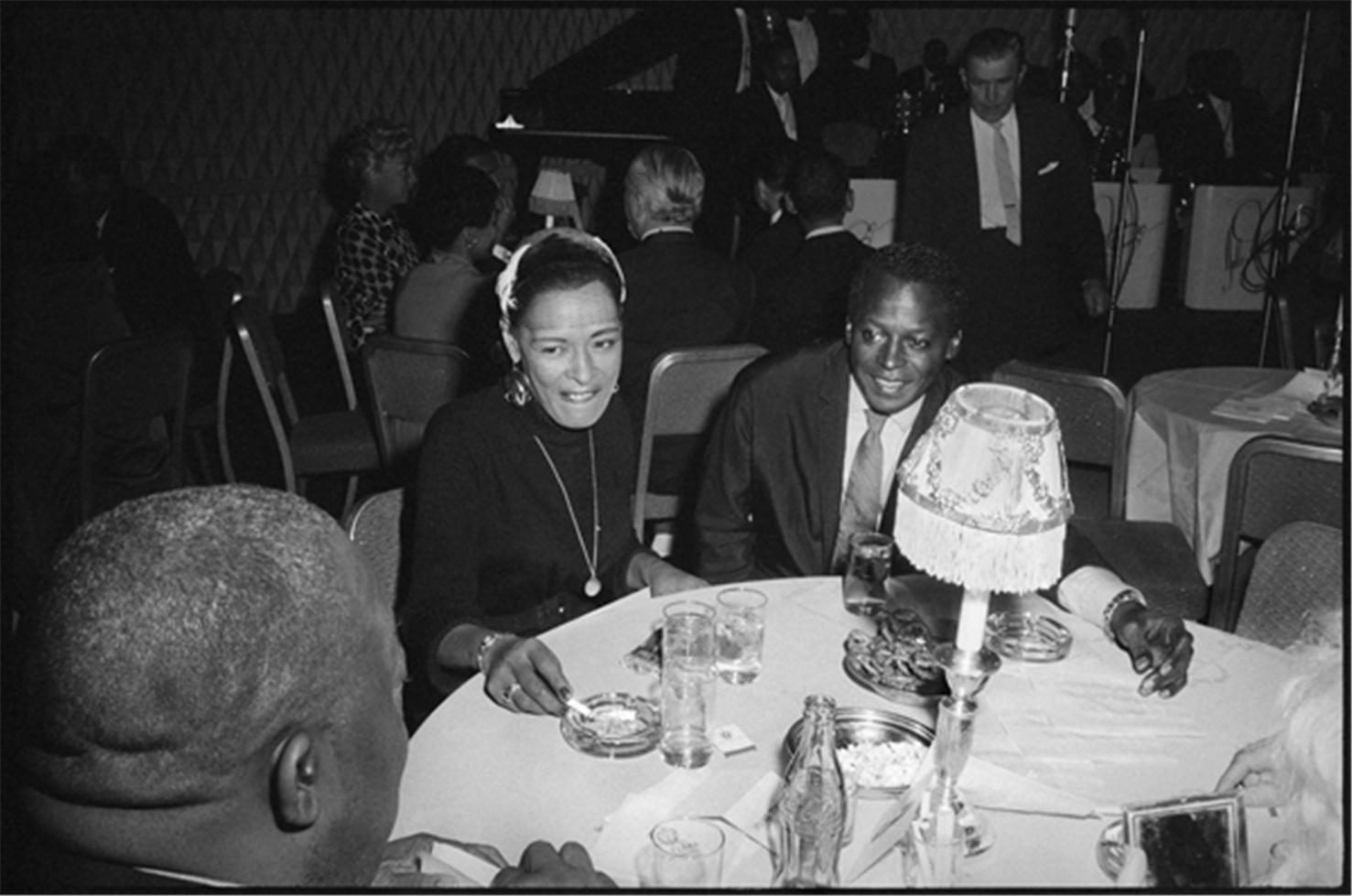 Miles Davis with Billie Holiday