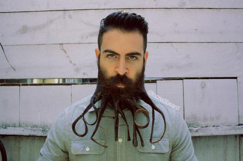 Weird Facial Hair Styles: 10 Weird And Wacky Beard Styles