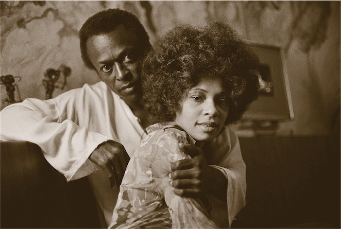 Miles Davis and Betty Mabry