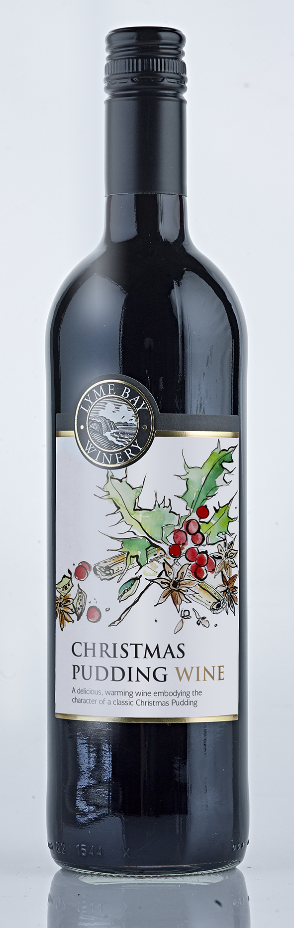 christmas pudding wine