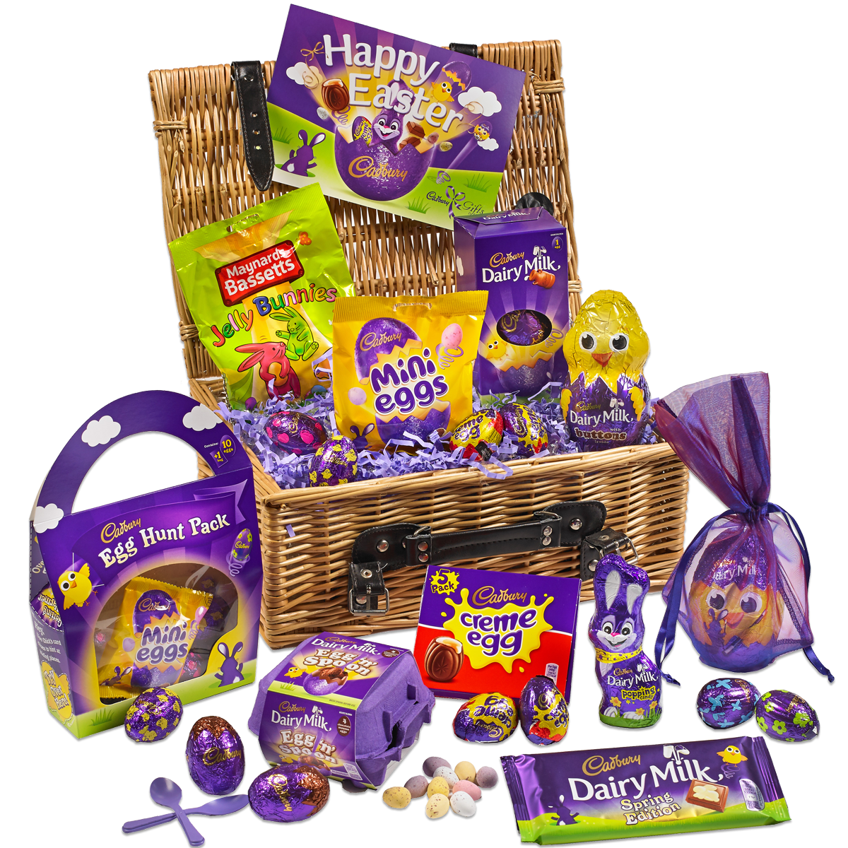 The ultimate easter chocolate gift guide readers digest chocolate cadburys easter sharing basket negle Image collections