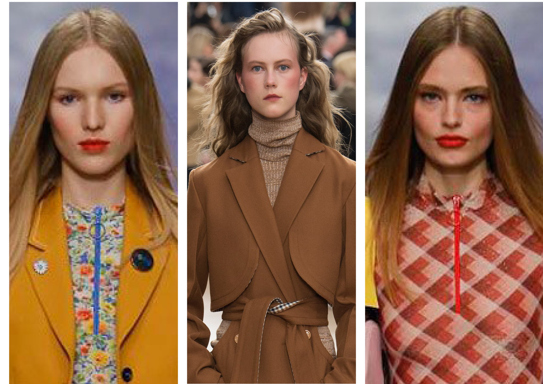 80s Hair and makeup: Our London Fashion Week highlights